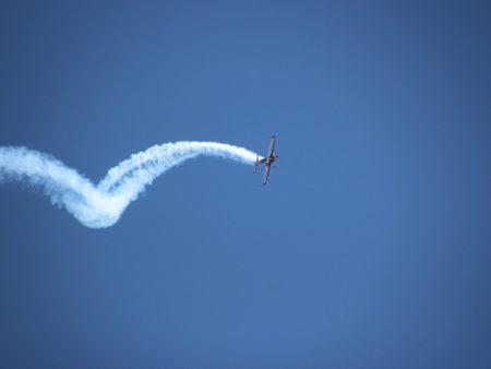 Aerobatics at Almat